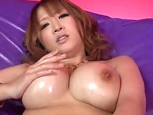 Busty Yuki Touma plays with cock in nasty ways -..