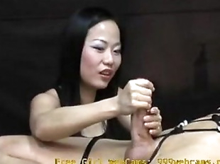 Asian Girl Gives an Intense Hand Job You Will..