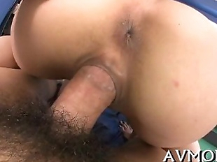 Slut milf oriental sucks on hard one-eyed..