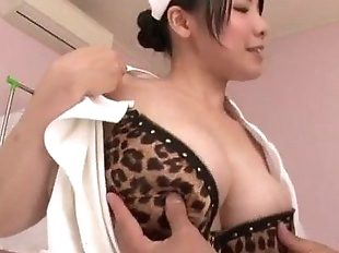 Miho Tsujii Asian nurse in need for cock in her..