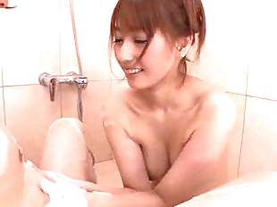 Nasty shower porn experience with Tiara Ayase -..