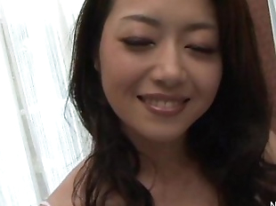 Japanese Babe fingered until she squirts - 8 min..