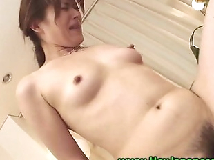 Mature milf gets pussy slammed in threeway with..