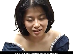 Miku is a horny mature Japanese babe - 8 min