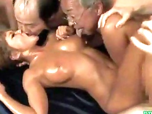 Hot Tanned Asian Girl Fucked By Guy While..