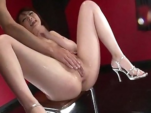 Dazzling oral play for Tomoka Sakurais pussy -..