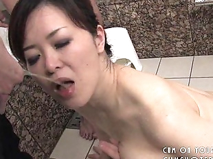 Submissive Japanese Slut Pleasing Cock In The..