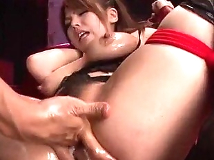Rough porn session with big tits milf Natsumi..