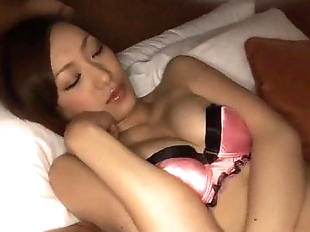Perfect Japanese Nene strips, gets toyed and..